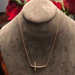 Jewelry - Minimalist 925silver and rose gold plated